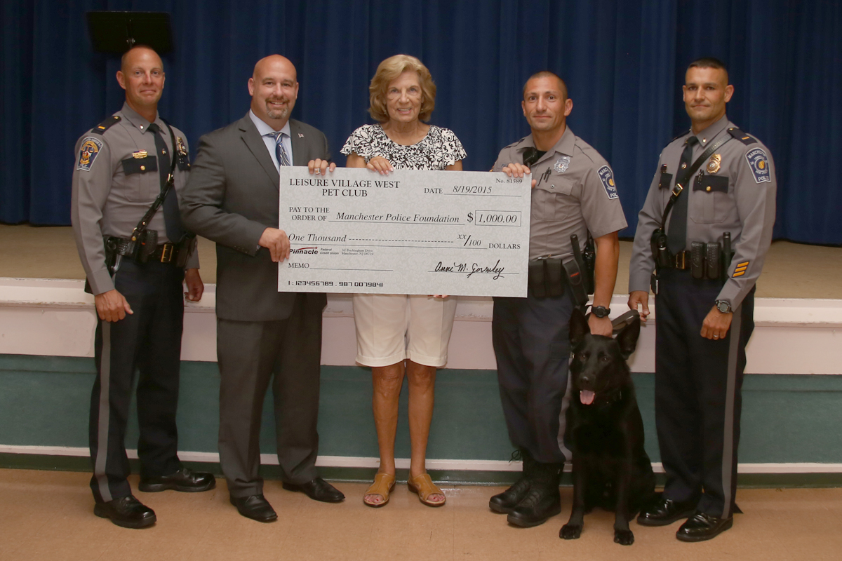Police Foundation Donation LVW Pet Club