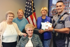 Police Foundation Donation Leisure Knoll Harmonics Group