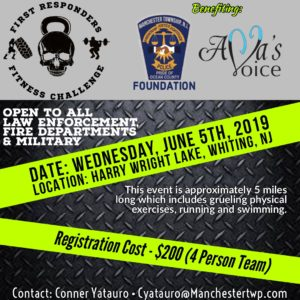First Responders Fitness Challenge - Manchester Police